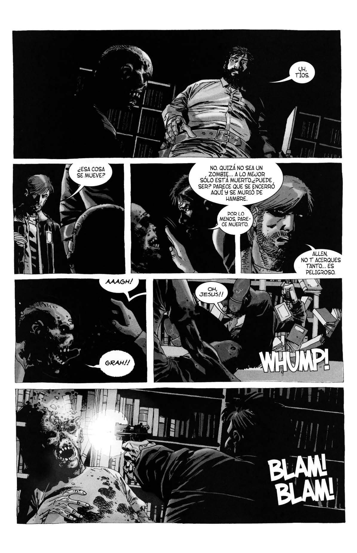 El comic de The Walking Dead (N°020)