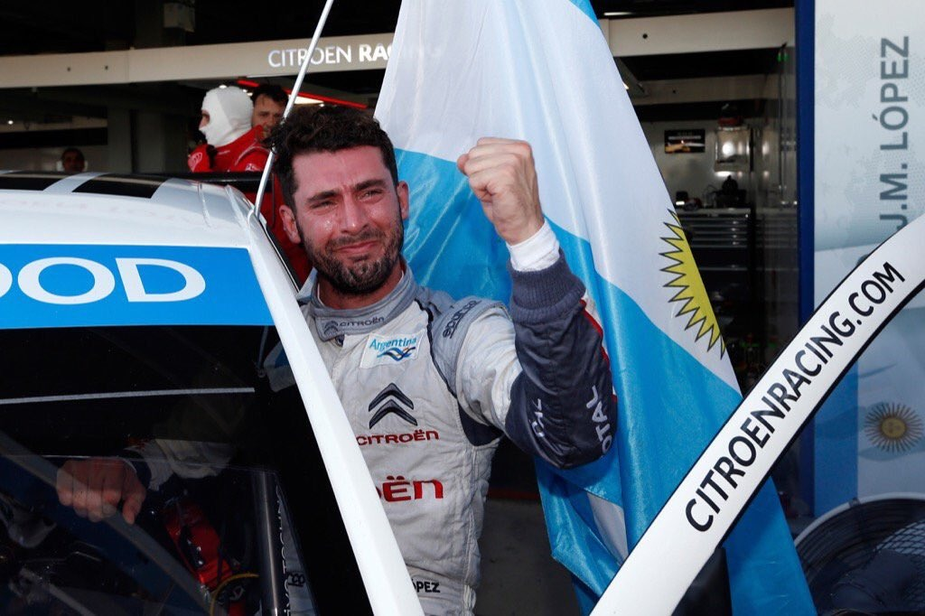 ¡ Pechito López bicampeón mundial de la World Touring Car !