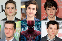Aqui estan, estos son, los 5 candidatos en la lista corta de Sony y Marvel para a ser 'Peter Parker: Liam James (18), Timothee C...