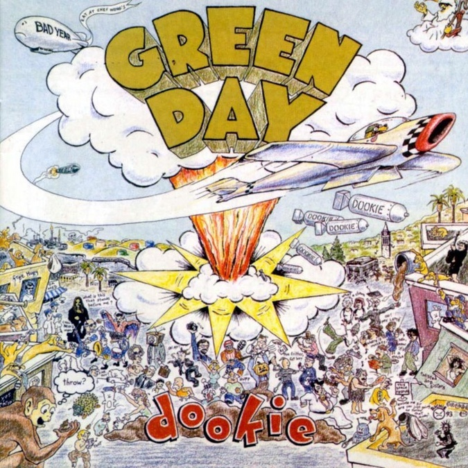 Mis covers de Dookie cd completo en guitarra (green day)