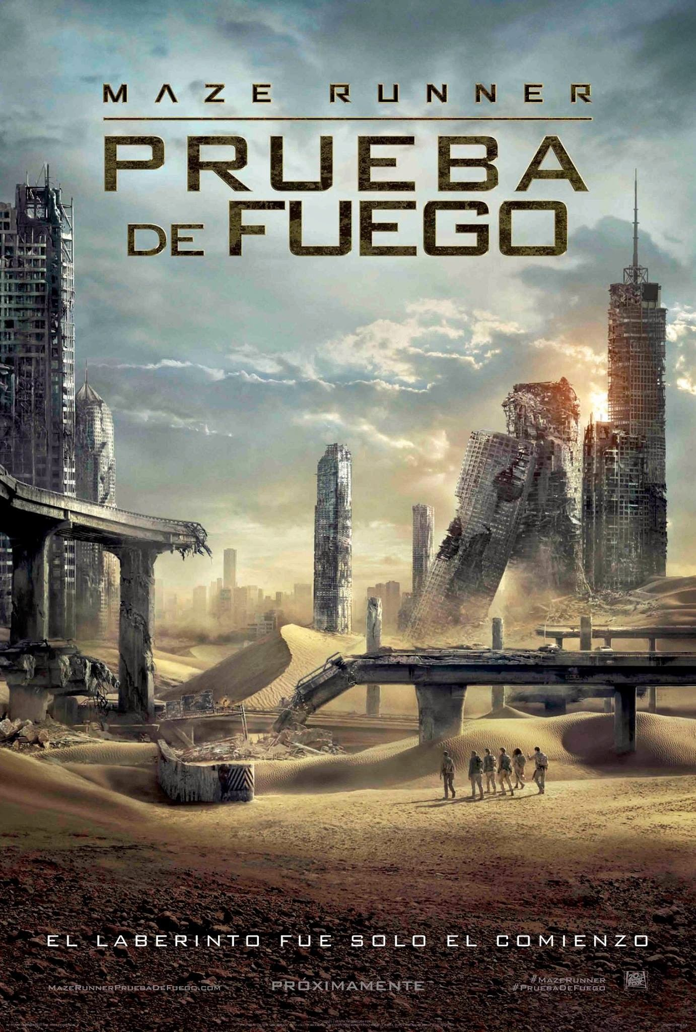 El corredor del laberinto: Las pruebas (Maze Runner: The Scorch Trials )