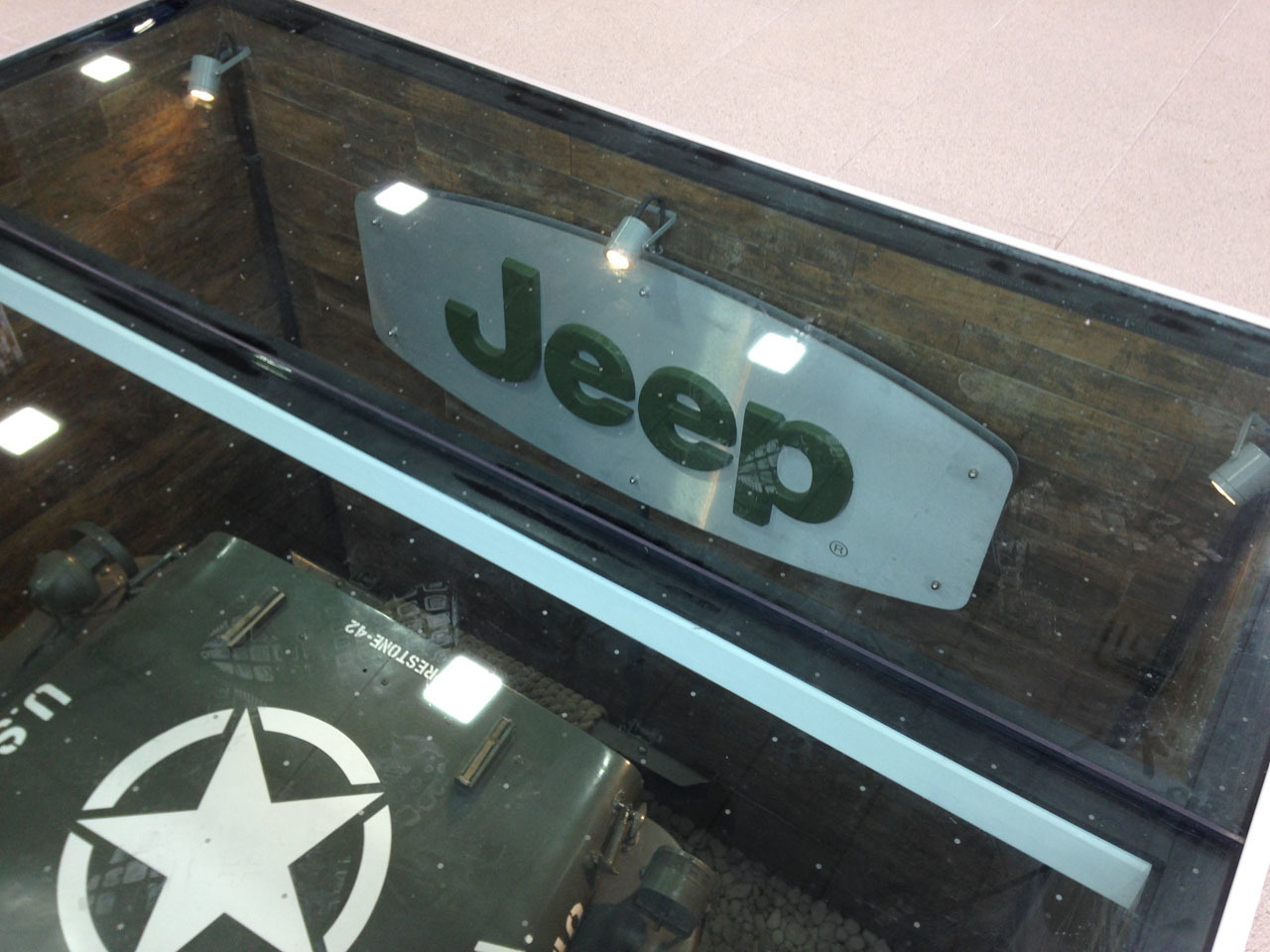 Video  Jeep dealer buries WWII Willys GP in showroom floor