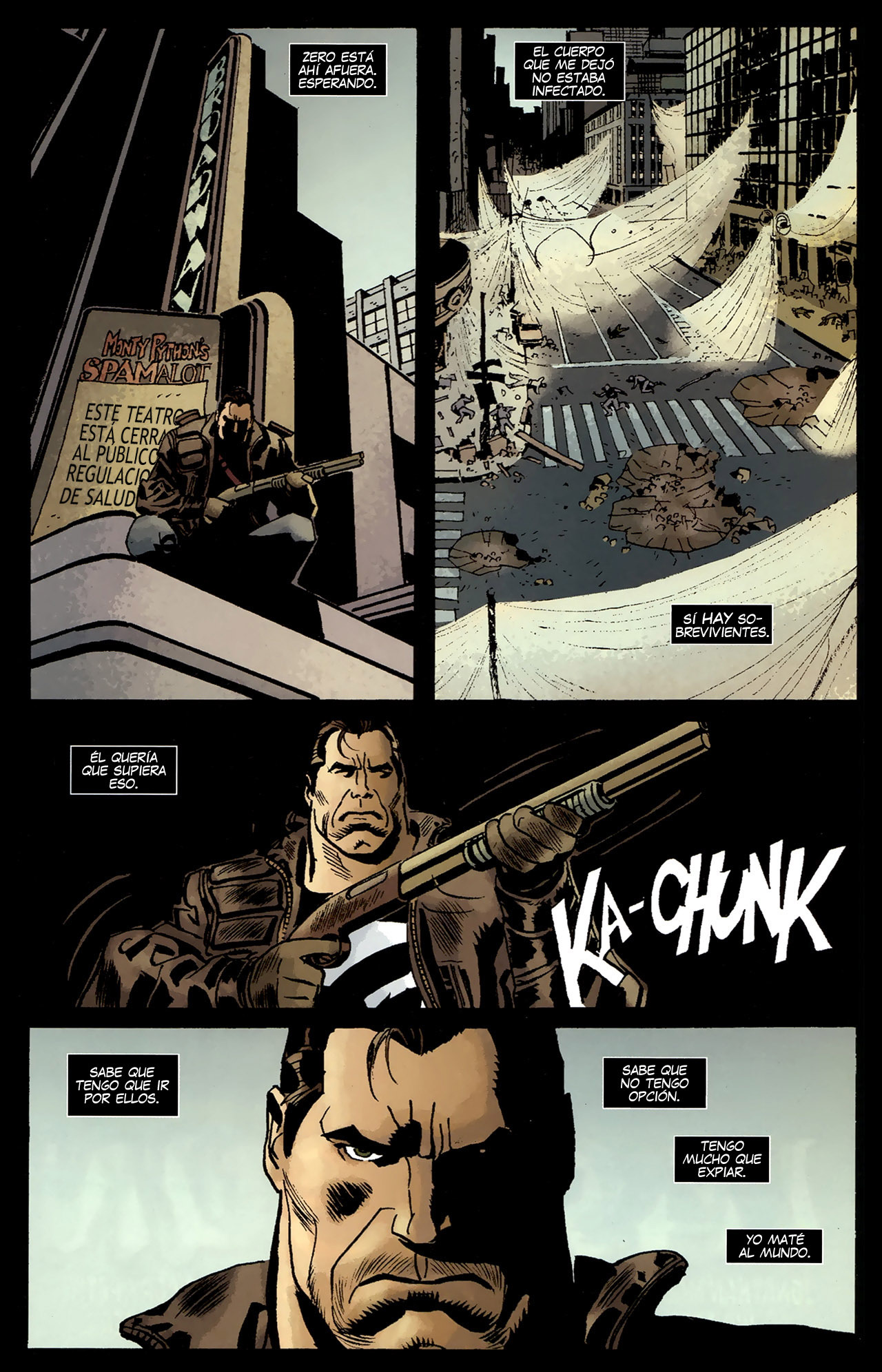 Punisher vs Marvel Universe