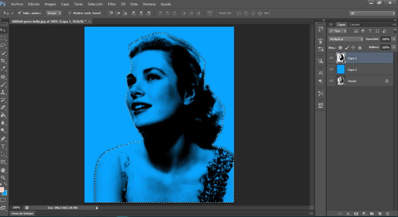 Photoshop para principiantes part 3: Efecto Pop Art