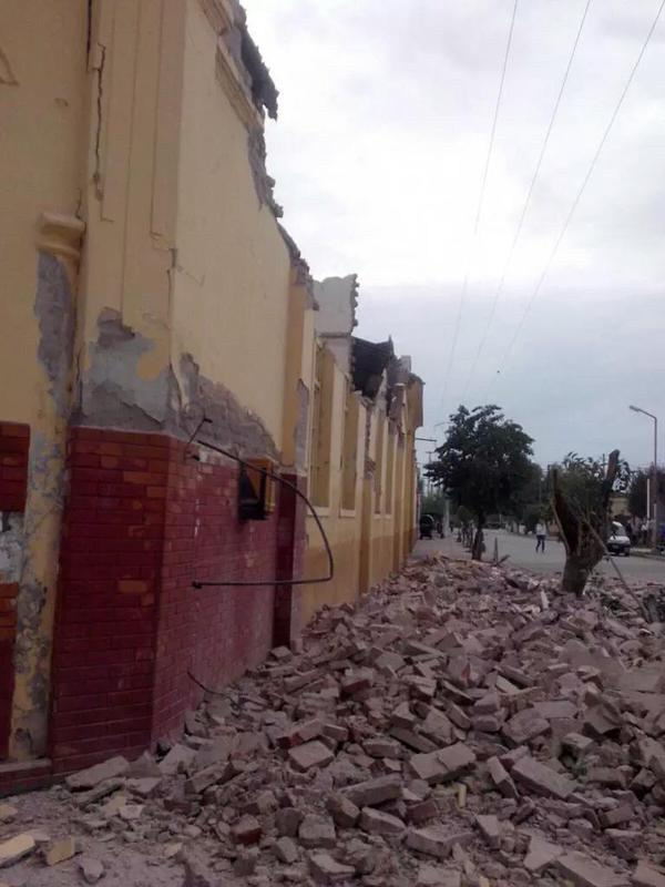 Fotos y Video: Del Terremoto en El Galpon, Salta