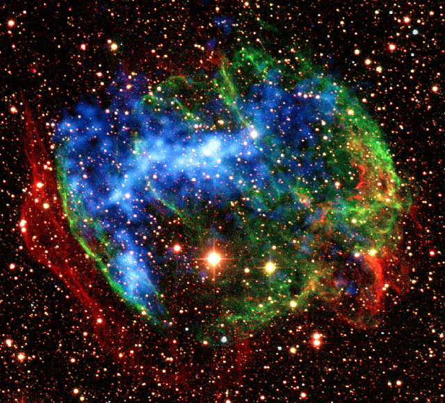 Supernovas, un espectaculo hermosamente mortifero