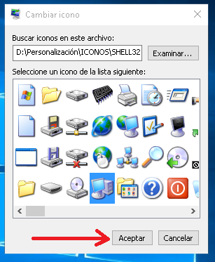 Windows 10 con apariencia de XP