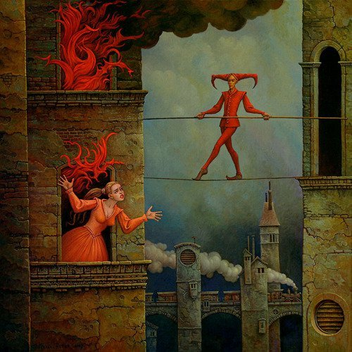 Surreal y oscuro: Michael Hutter