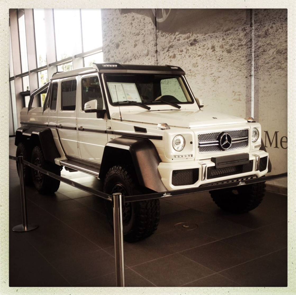 mercedes benz g klasse 6x6 amg los l mites no. Black Bedroom Furniture Sets. Home Design Ideas