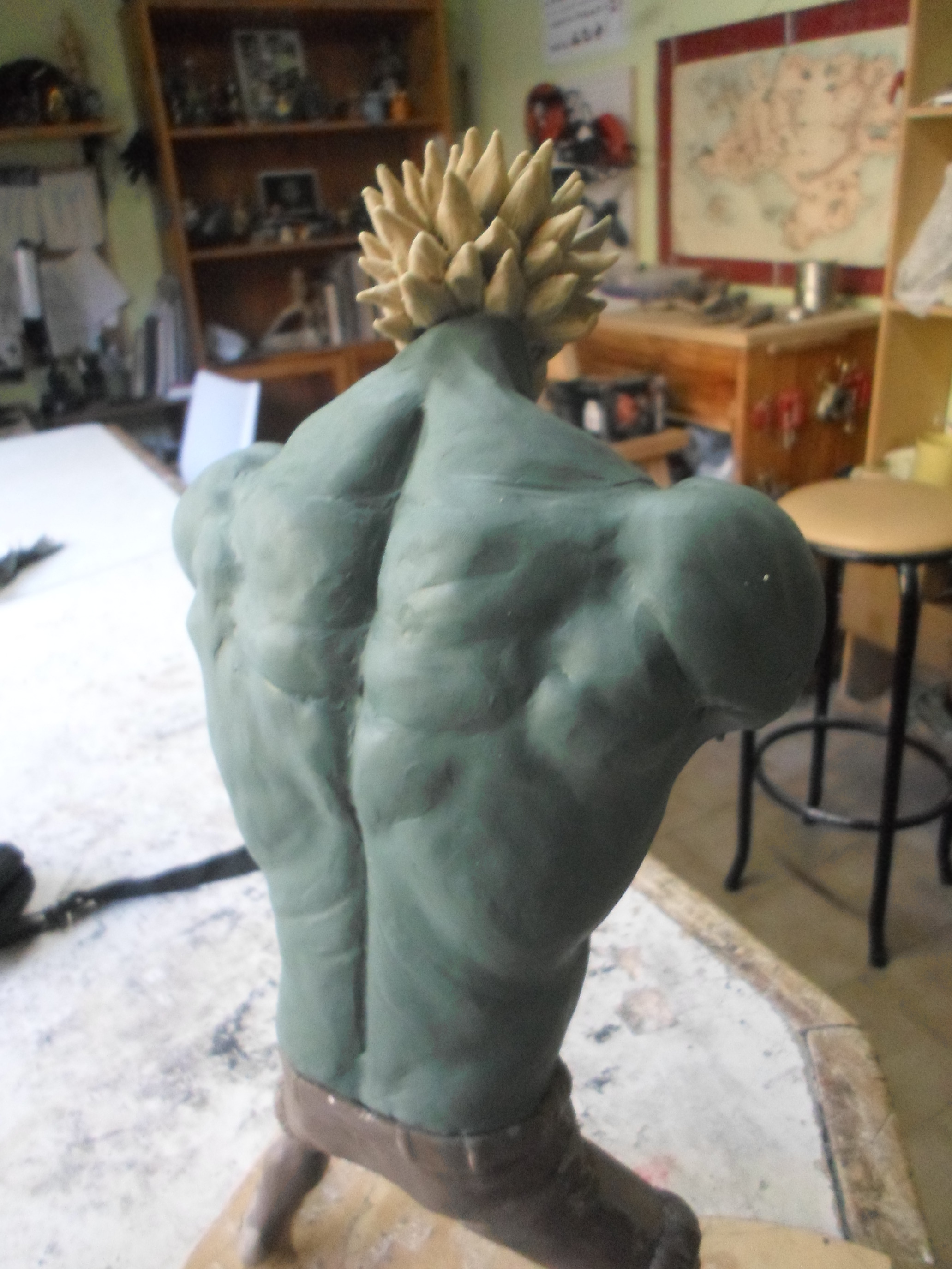 Escultura Luffy (Nightmare) One Piece