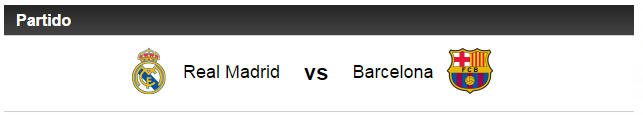 Real Madrid vs Barcelona ( ¿ Ganador ? )