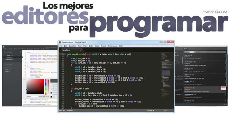 Editores HTML5, CSS3 y JS: Brackets, Linux, Mac, Windows