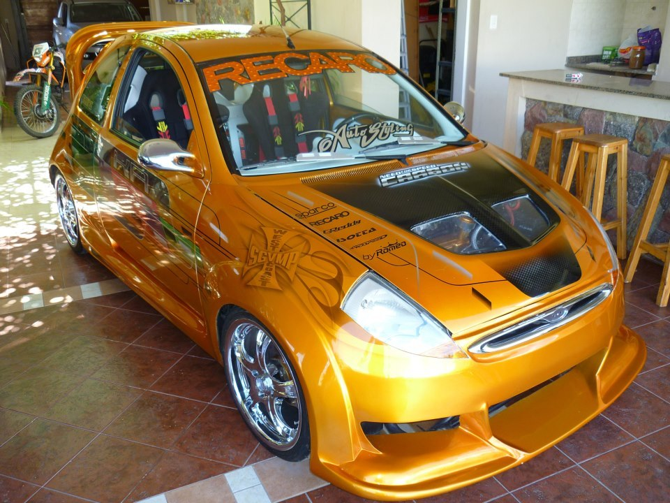 ford ka tuning la rioja autos y motos taringa. Black Bedroom Furniture Sets. Home Design Ideas